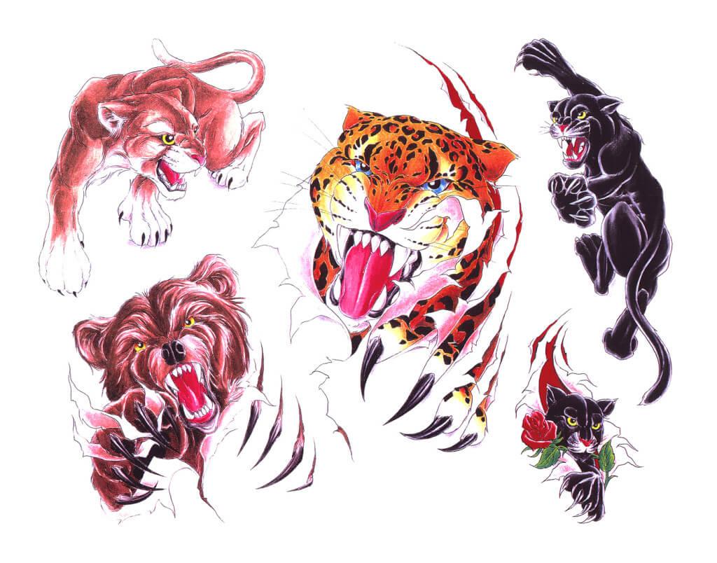 Animal Tattoos Designs