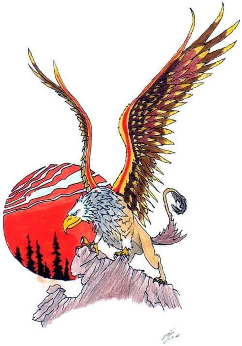 Big Eagle Tattoo Ideas
