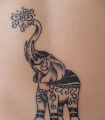 Elephant Tattoo Art Design