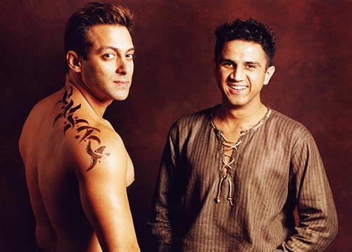 Salman Khan Tattoo Design