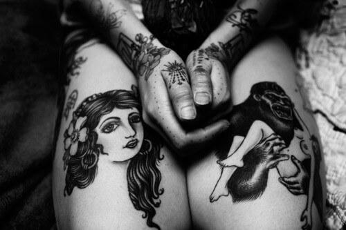 Tattoos for Girls on Leg