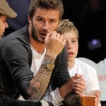 David Beckham Tattoos on Arm