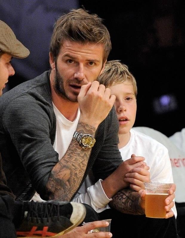 David Beckham Tattoo Ideas