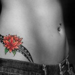 Hip tattoo design Ideas for women