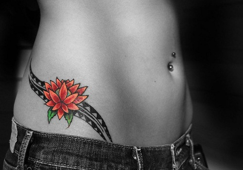 Hip Tattoo Ides for women