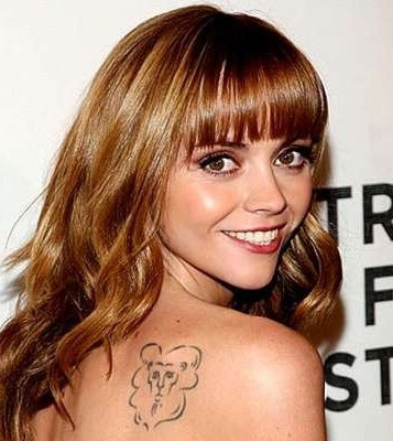Christina Ricci Tattoo