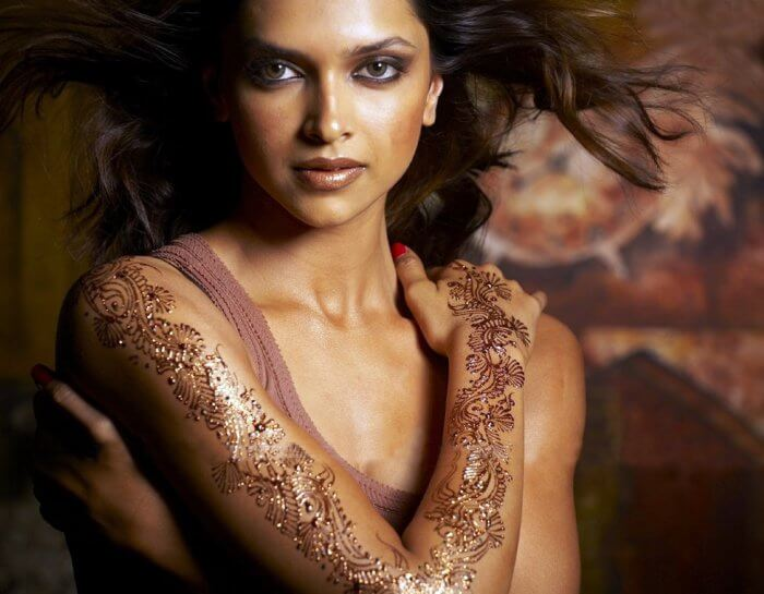 Deepika Padukone tattoo picture