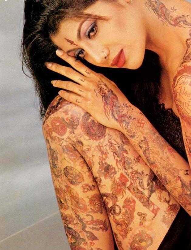 Shilpa Shetty Body Tattoo