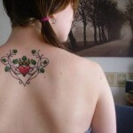 Wonderful Celtic Heart Tattoo Design