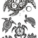 Turtles Tattoo Design