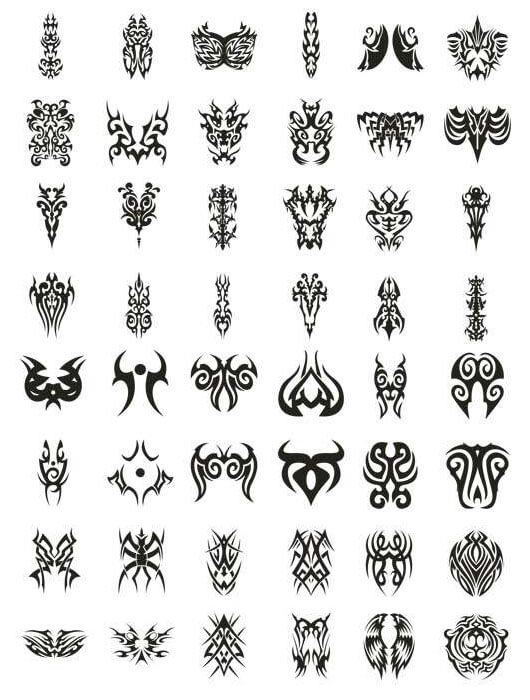 Different Tribal Tattoo Ideas