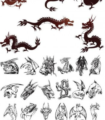 Free Dragon Tattoo Designs to Print