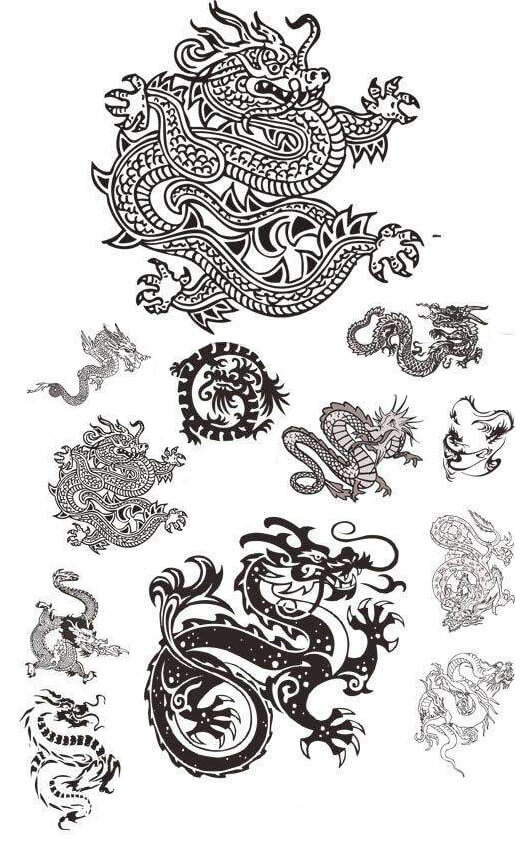 Dragons Tattoo