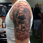 Angel Tattoos Ideas for Men