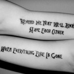 Brother and Sister Tattoo Quotes