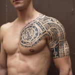 Quarter Sleeve Tattoo Ideas for Men