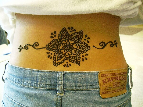 lower-back-henna-tattoo