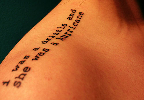 Cool Literary Tattoos Creativefan