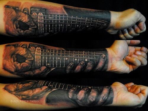 Forearm Sleeve Tattoo Designs for Men