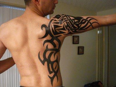 Forearm Sleeve Tribal Tattoos