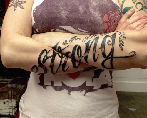 Guy Has Got Cool Tattoo Ideas that Covers His Forearms