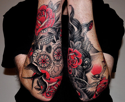Mexican Arm Tattoos for Men