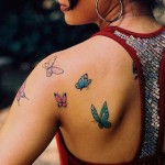 Back Butterfly Tattoos Ideas for Women