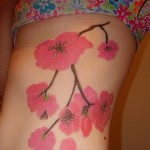 Birth Flower Tattoo Design