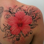 Amazing Hibiscus Flower Tattoos Ideas