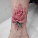 Rose Flower Tattoo Designs Gallery