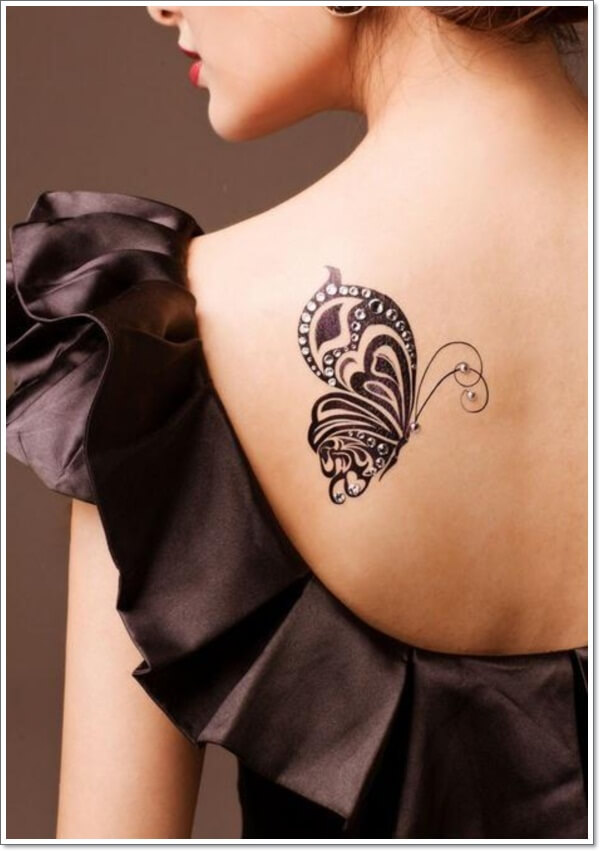 sexy-upper-back-butterfly-tattoos-for-girls