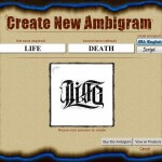 Ambigram Tattoo Generator Free