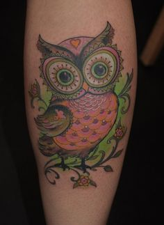 Best Owl Tattoo Design