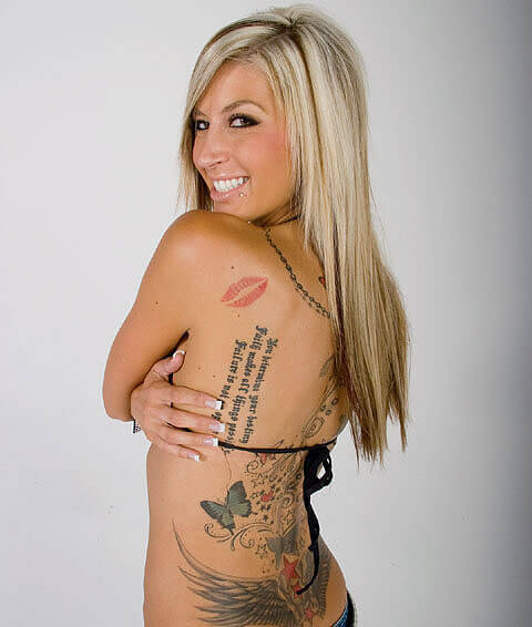 Jessi Combs Tattoo