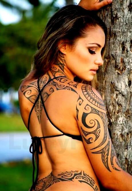 Maori Tattoos for Women