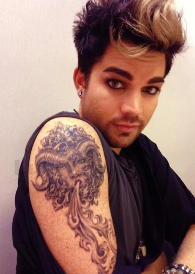 Adam Lambert Tattoos Picture