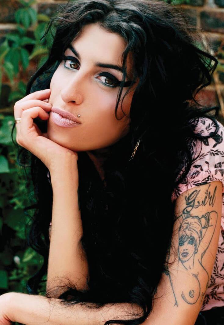 Amy Winehouse Tattoos Ideas