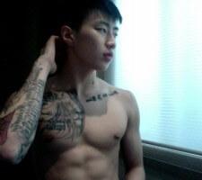 Jay Park Lion Tattoo