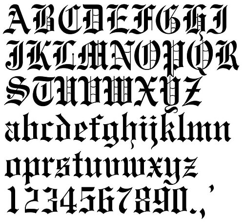 Tattoo Font Calligraphy Generator