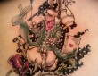 Alice Wonderland Art Tattoo