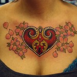 Beautiful Lock And Key Tattoo Designs