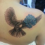 Hydrangea Tattoo Design