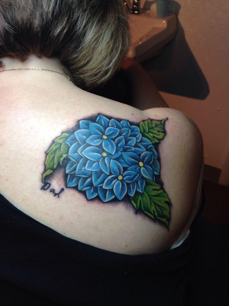 Hydrangea-tattoo
