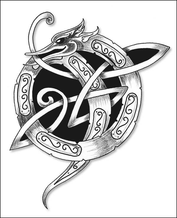Celtic-Dragon-Tattoo