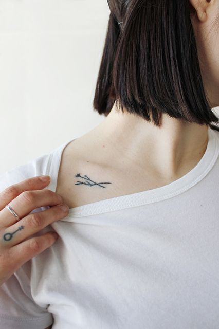 Minimalist Tattoos tattooideasart.com
