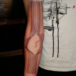 Minimalist and Abstract Tattoos for Men