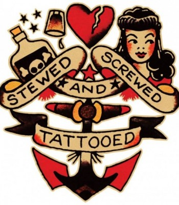 Rockabilly Tattoo for Men – Sailor Jerry Tattoo Style