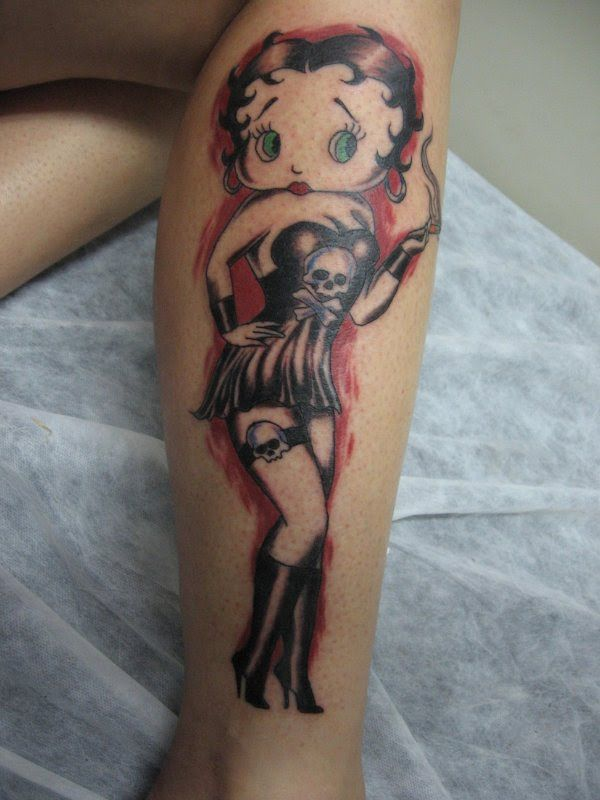 betty-boop-skull-tattoo