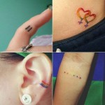 Small tattoos with big meaning ...
